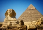Great Sphinx and Pyramid of Khafre